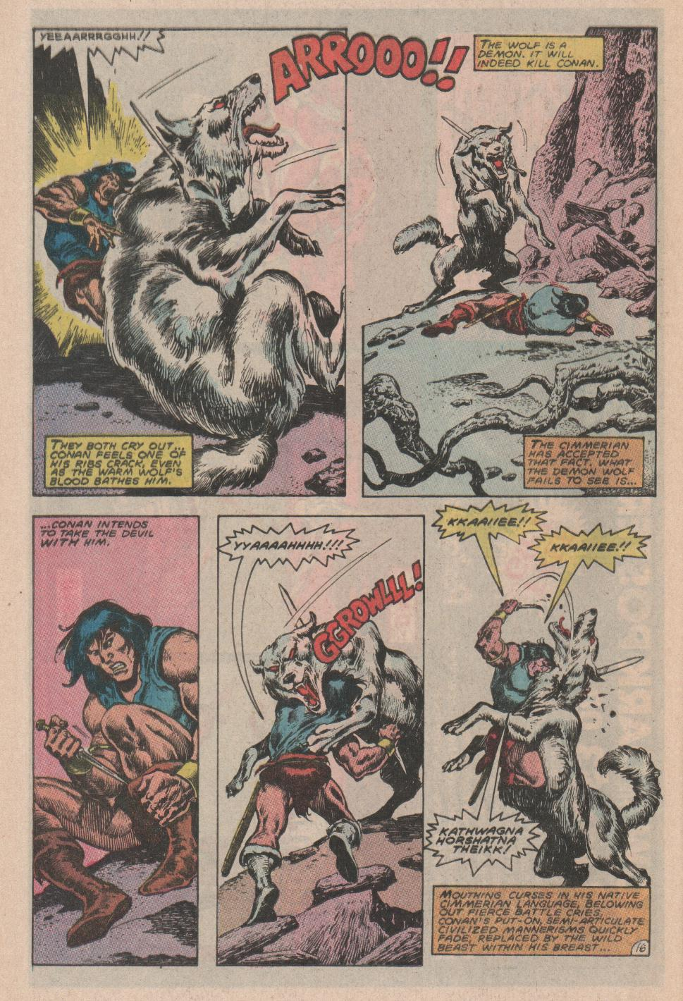 Conan the Barbarian (1970) Issue #178 #190 - English 17