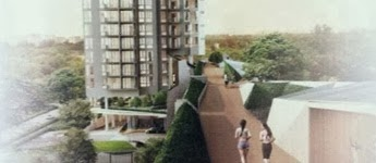 Highline Residences' Draft Perspective