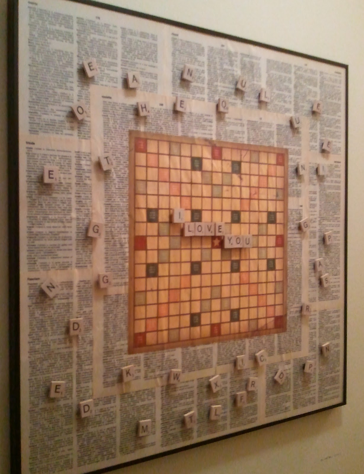 Scrabble Game Old Dictionary