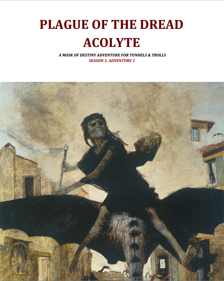Plague of the Dread Acolyte now available to download