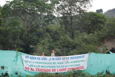 Movilización día internacional contra las represas