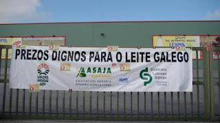 """El sector lácteo gallego, un panorama """"dramático"""""""