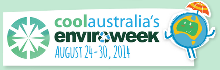 Logo for CoolAustralia's EnviroWeek August 24-30, 2014