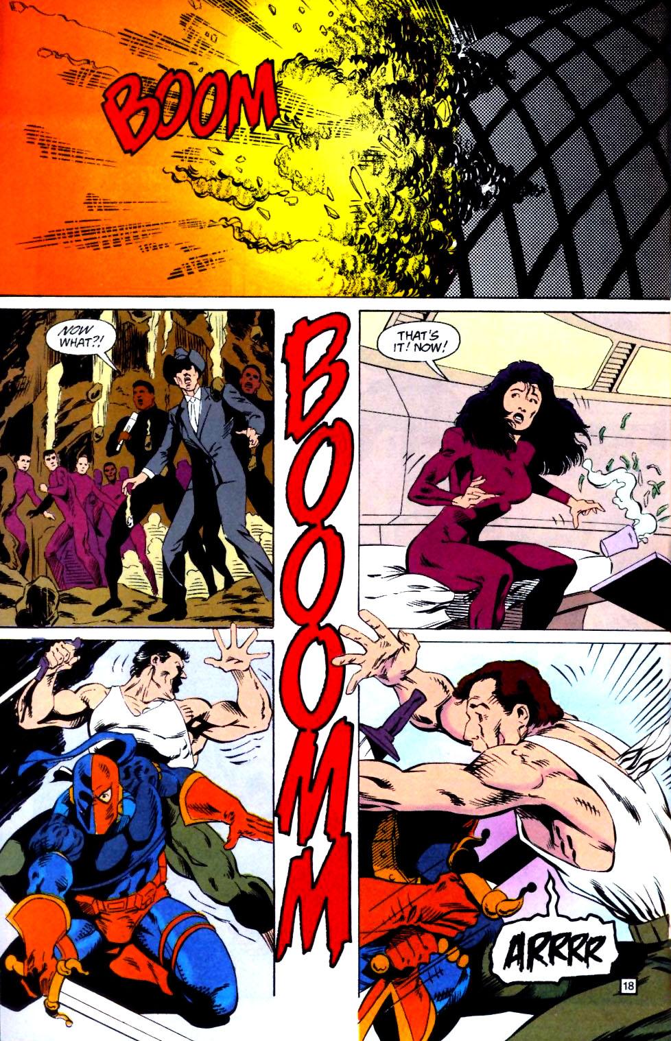 Deathstroke (1991) Issue #25 #30 - English 19