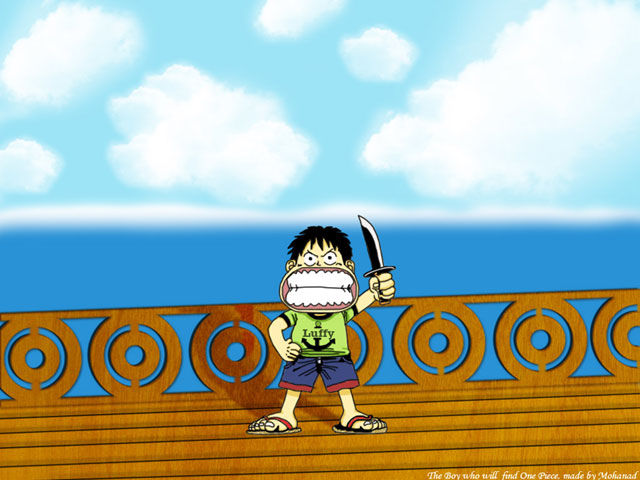 Luffy Child on 1st Comic