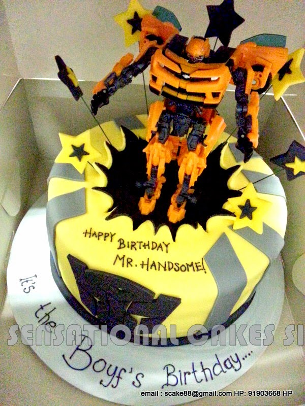 how to make a transformer cake