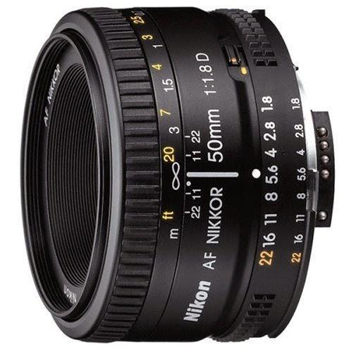 Nikkor Camera Lens f 1.8D AF Nikkor Lens for Nikon Digital SLR Cameras