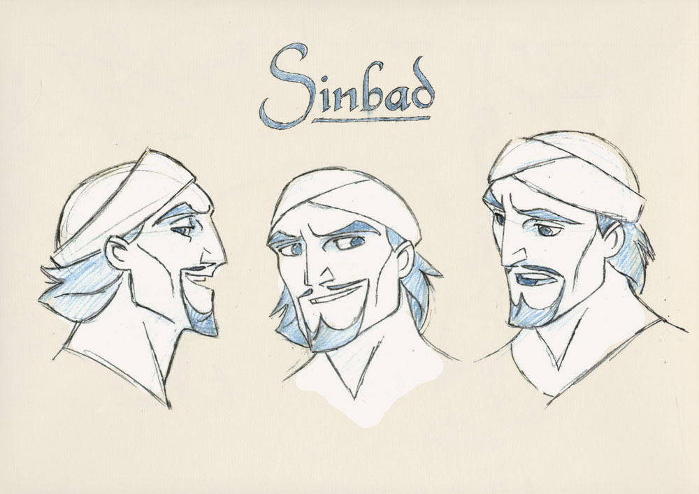 Living Lines Library: Sinbad: Legend of the Seven Seas ...