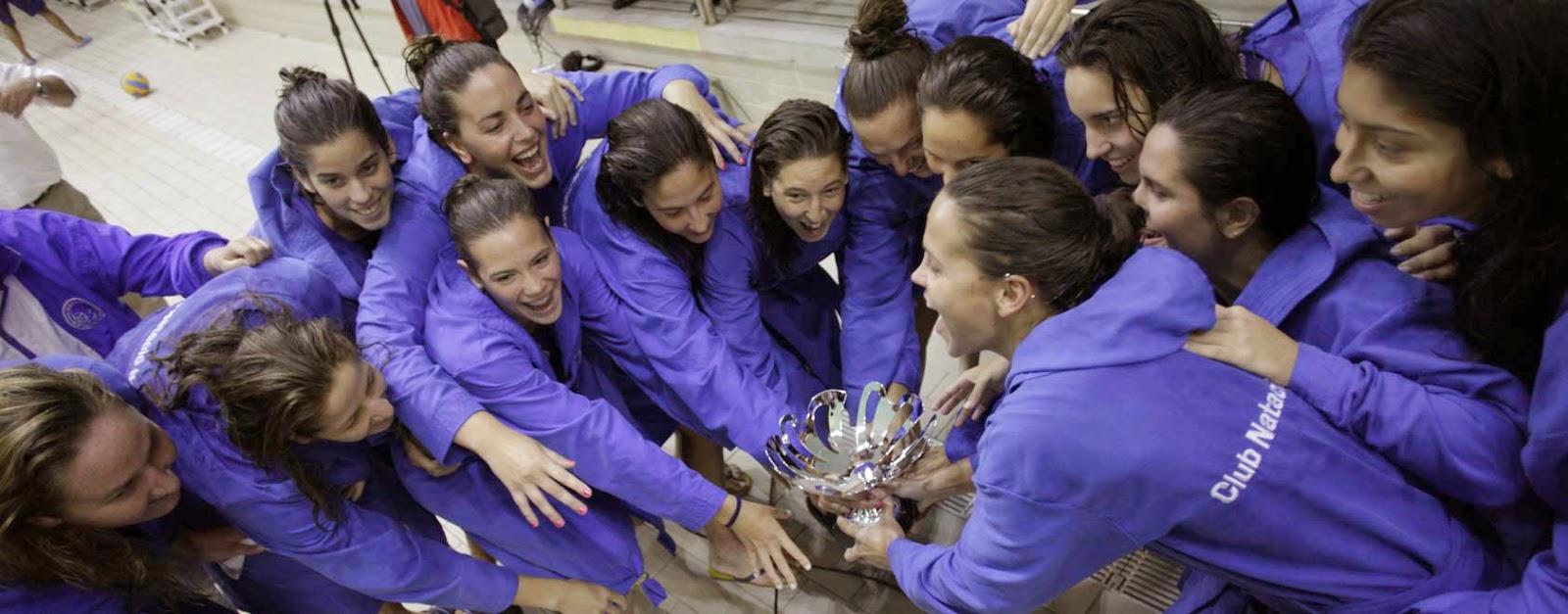 WATERPOLO-CN Sabadell hace pleno de títulos alzando la liga