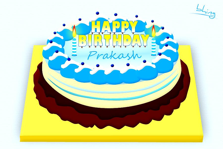 Bhing Rife Creating Simple Birthday Cake Using Photoshop