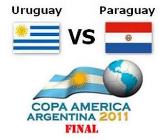 Goals Video Uruguay VS Paraguay 3-0 Final Copa America 2011