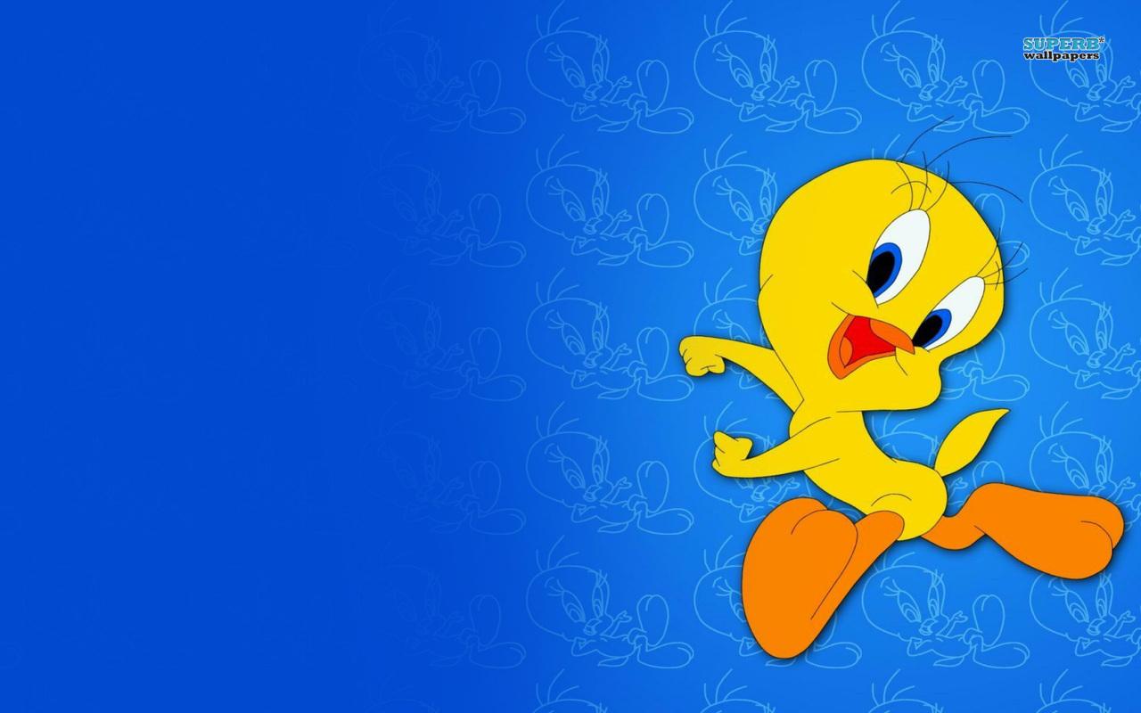 Looney Tunes Tweety Bird Character Wallpaper