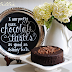 Chocolate Cake and Chalk Pens