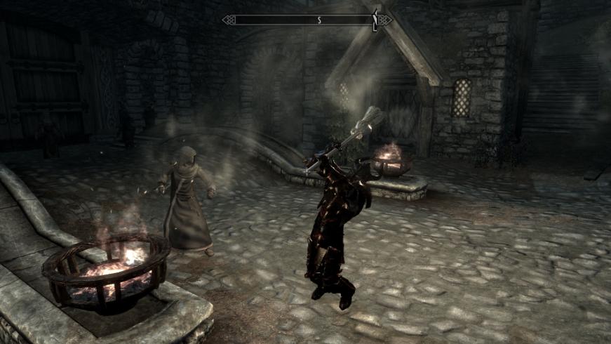 Elder Scrolls V Skyrim WEAPONS MOD PLAYABLE BROOM WEAPON 5