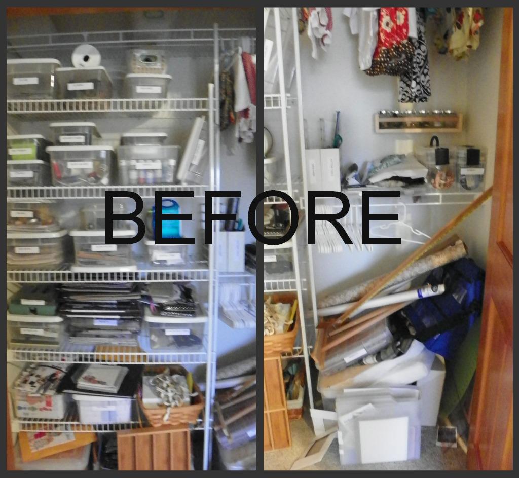 Craft closet storage - Craft Room Closet Storage Ideas Craft Room Closet Craft Closet