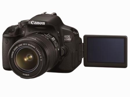 Harga Kamera Canon EOS 650D