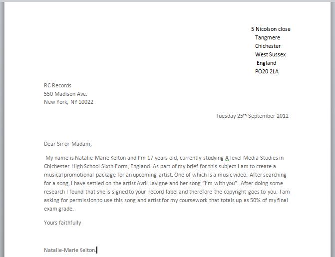Addressing A Letter | Doc - www.mittnastaliv.tk