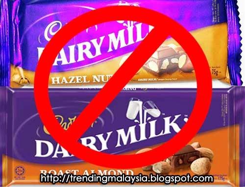 cadbury babi haram boikot