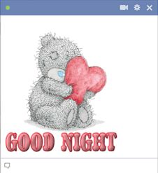 Good Night Emoticon For Facebook