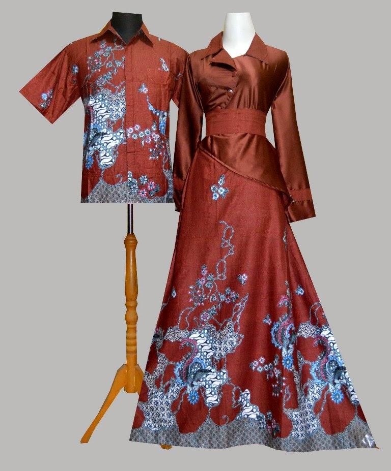 Batik Murah Collection Sarimbit Gamis