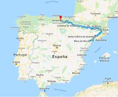 Vuelta a la Península Ibérica en cuatro años, Ruta 2018  Mora D'Ebre (Tarragona)- Artieta (Burgos)