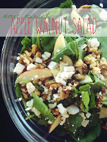 Simple Apple Walnut Salad