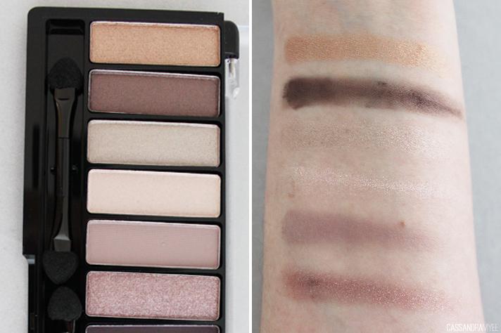 CHI CHI // Glamorous Eye Shadow Palette ELEGANT | Review + Swatches - CassandraMyee