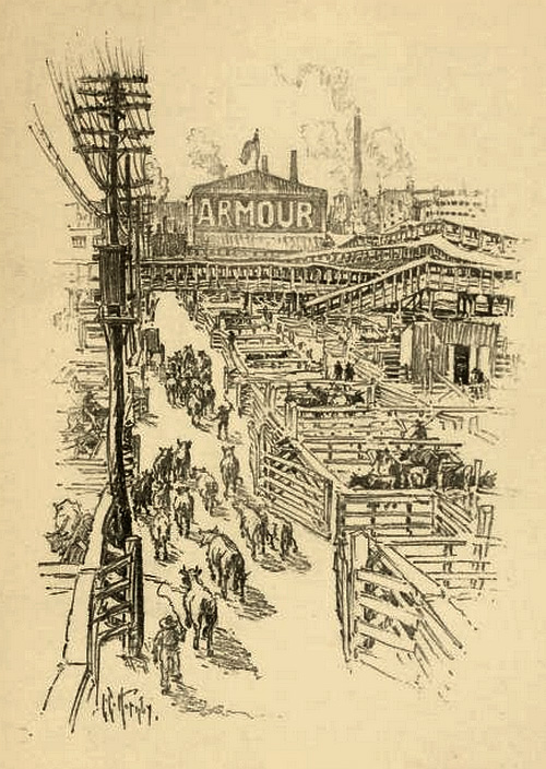In the Stockyards-Armour