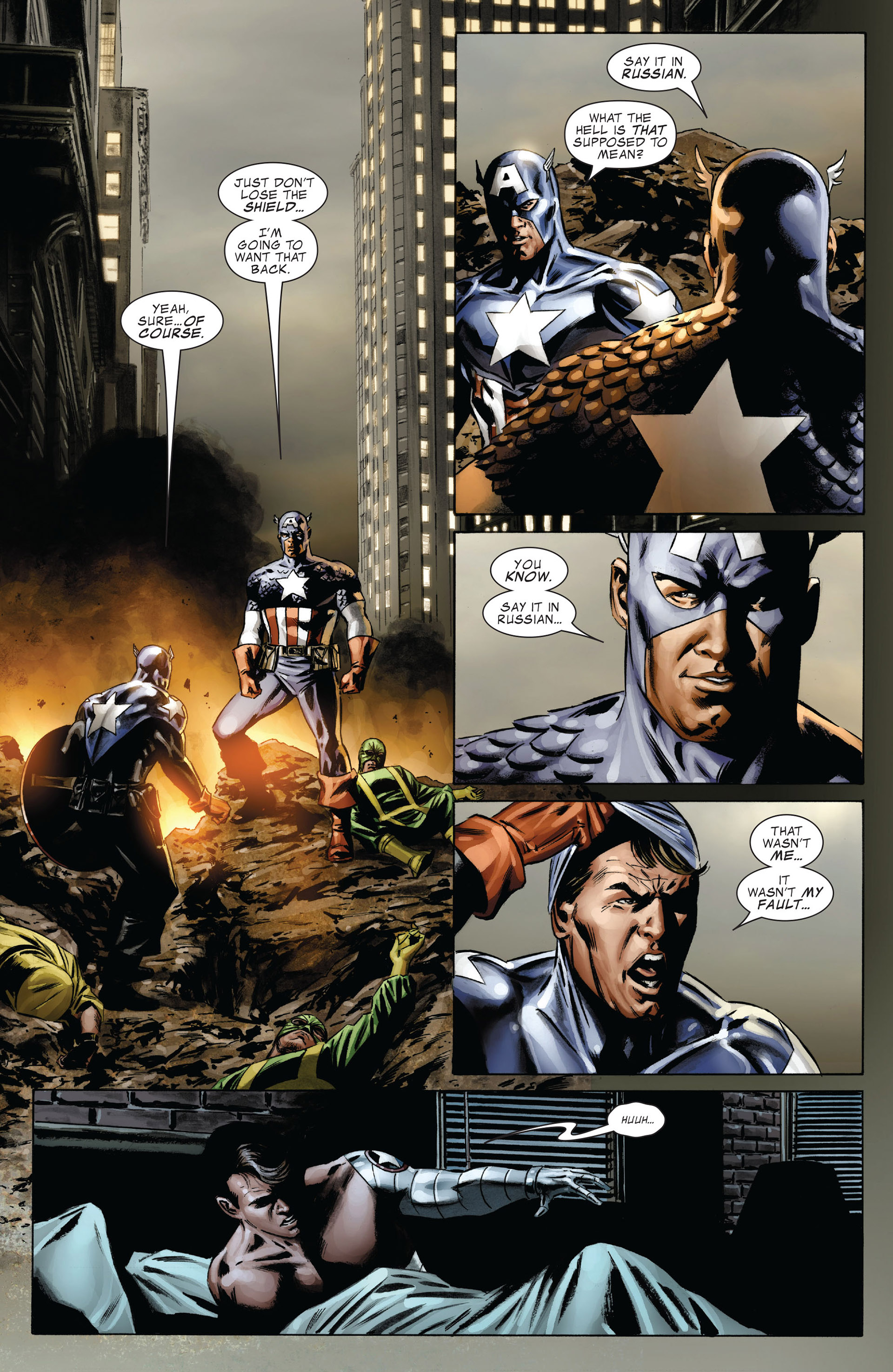 Captain America (2005) Issue #37 #37 - English 19