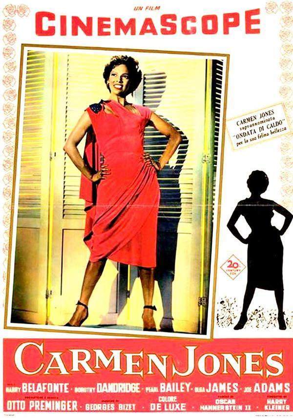 Golden2Golden Entertainment: Carmen Jones: The Film (1954)