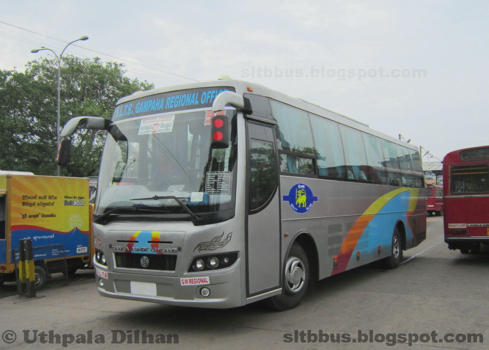 Gampaha / Katunayake Sri Lanka  city photo : ... Ashok Leyland Viking AC luxury bus from SLTB Gampaha Regional office