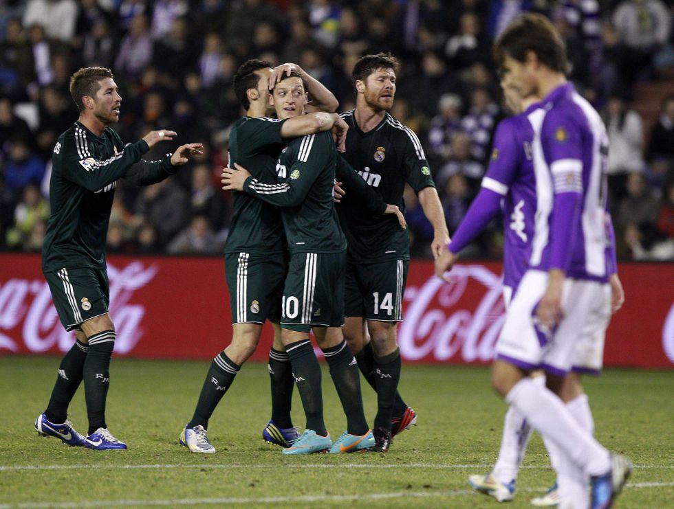 Mediapunta Rescata Al Madrid De Las Garras De Un Meritorio Valladolid