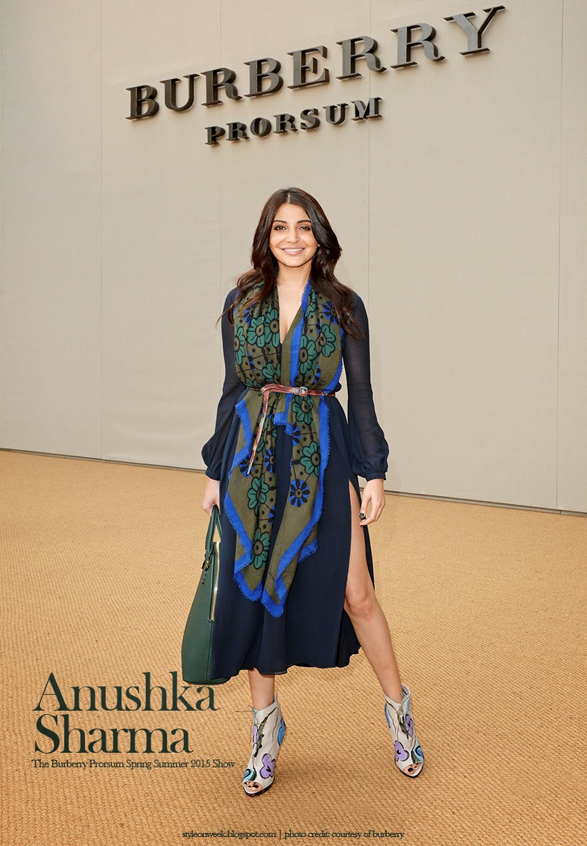 Anushka Sharma Fun and Fashionable in Graphic Scarf