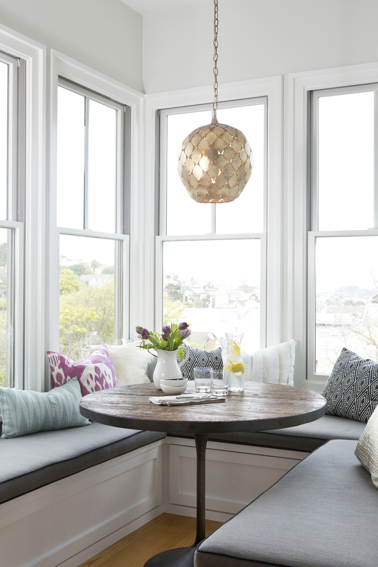 Decor Inspiration Sunny Breakfast Nook Cool Chic Style Fashion