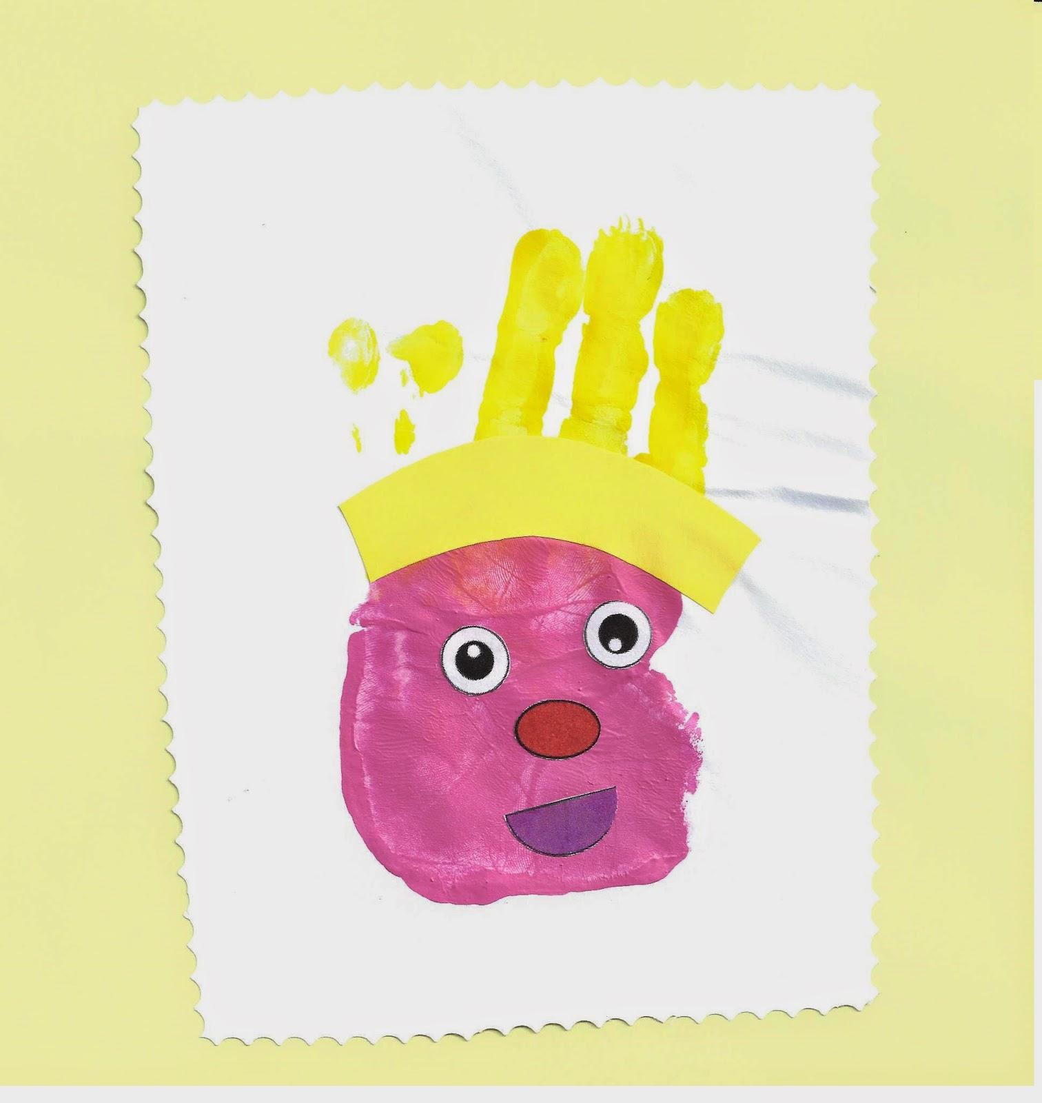 Rois en empreintes de mains