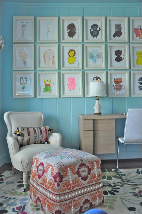 Childrens Bedroom Artwork