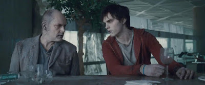 R and M at the airport bar in WARM BODIES