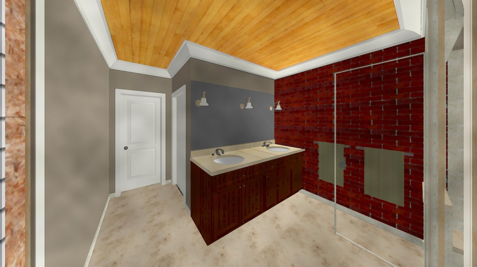 THE AUSTIN PROJECTS: Master Bath Design Iteration 2