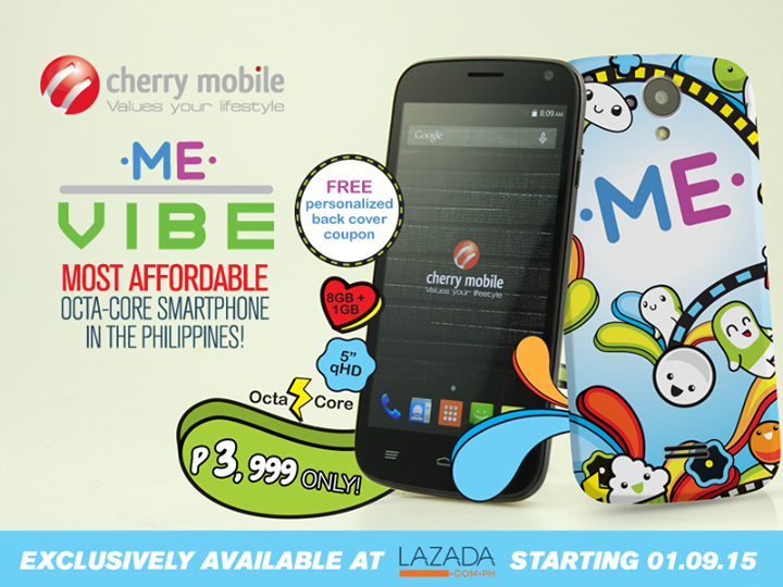 Cherry Mobile ME Vibe: Specs, Price and Availability