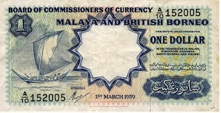 BRITISH MALAYA CURRENCY