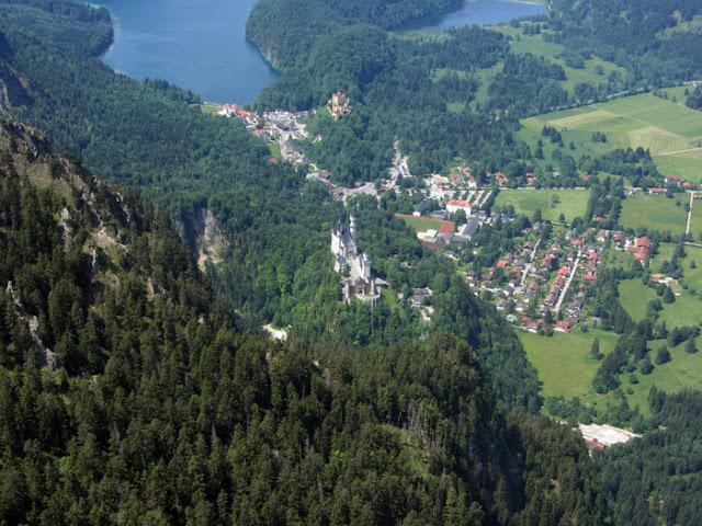 Paragliden Schloss Neuschwanstein