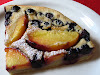 Baked Blueberry & Peach Pancakes