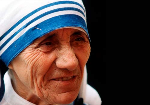 MOTHER TERESA NOW A SAINT, HURRAY.