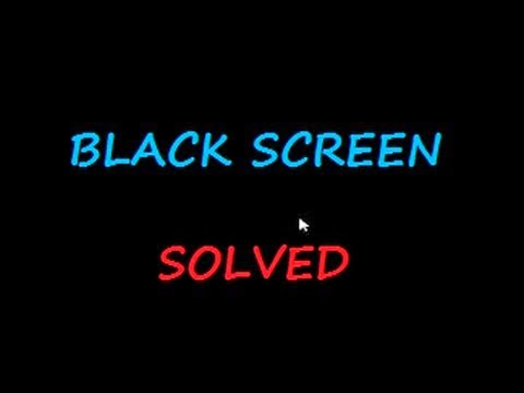 Cara Mengatasi Windows 8 / Windows 8.1 Black Screen