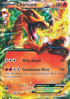 Charizard EX Flashfire Pokemon Card