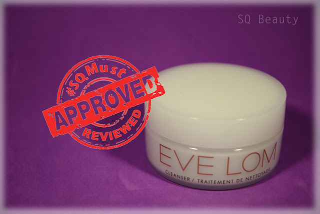 Eve Lom cleanser Silvia Quirós