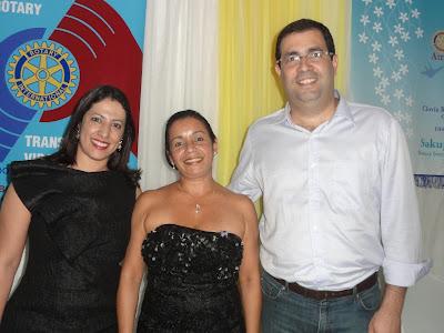 Cláudia Rodrigues Abreu é a nova presidente do Rotary Club de Porto Seguro