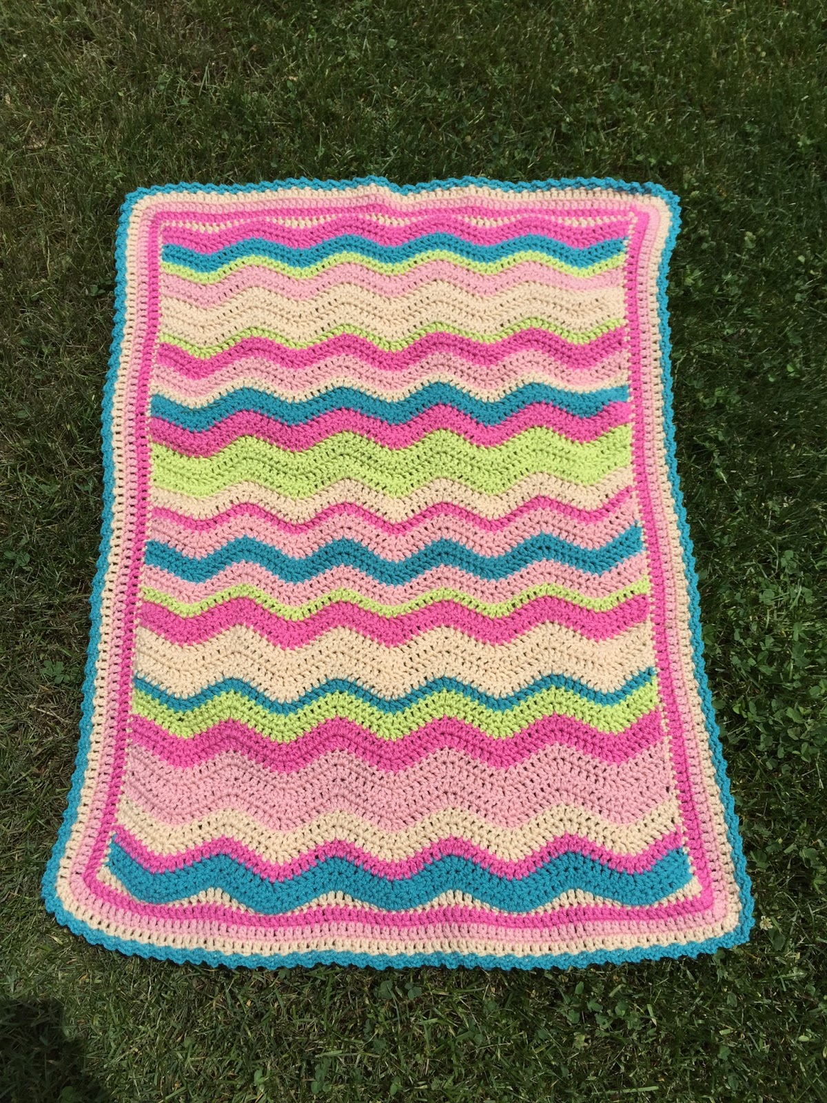 Skein and Hook: Pattern Release: Emerson Car Seat Cover or Blanket