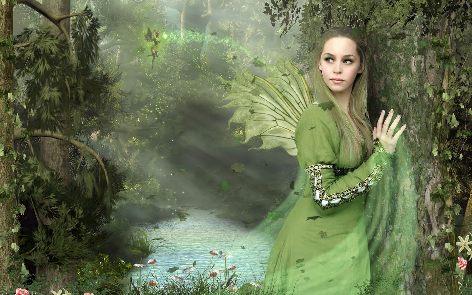 girl from a fairy - photo #9