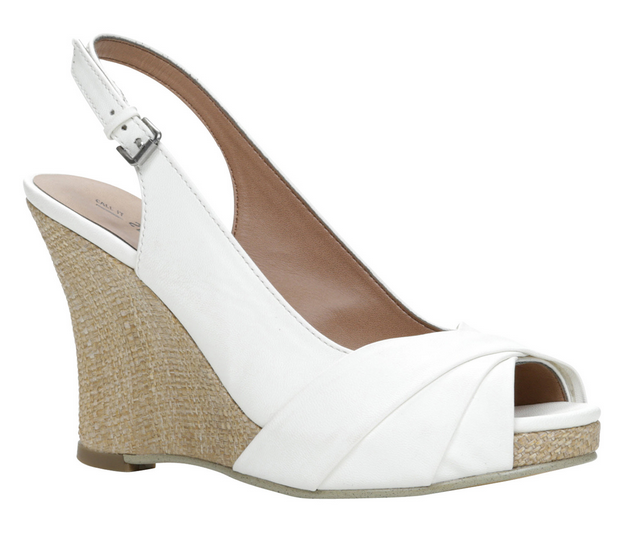 Call It Spring Esmonda white wedges
